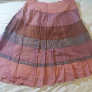 Maxmara Weekend Line Multi Color Pleaded Skirt 2